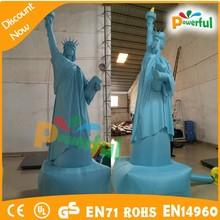2015 new gonflable la Statue de la liberté modèle pour la promotion / gonflable Statue de la liberté