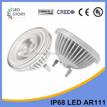 30,000Hours High power AR111 7W replace traditional 70W Bulb 12V most powerful LED Spotlight