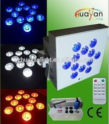 2015 Updated product rechargable led food light wireless remote control led wedding uplighting