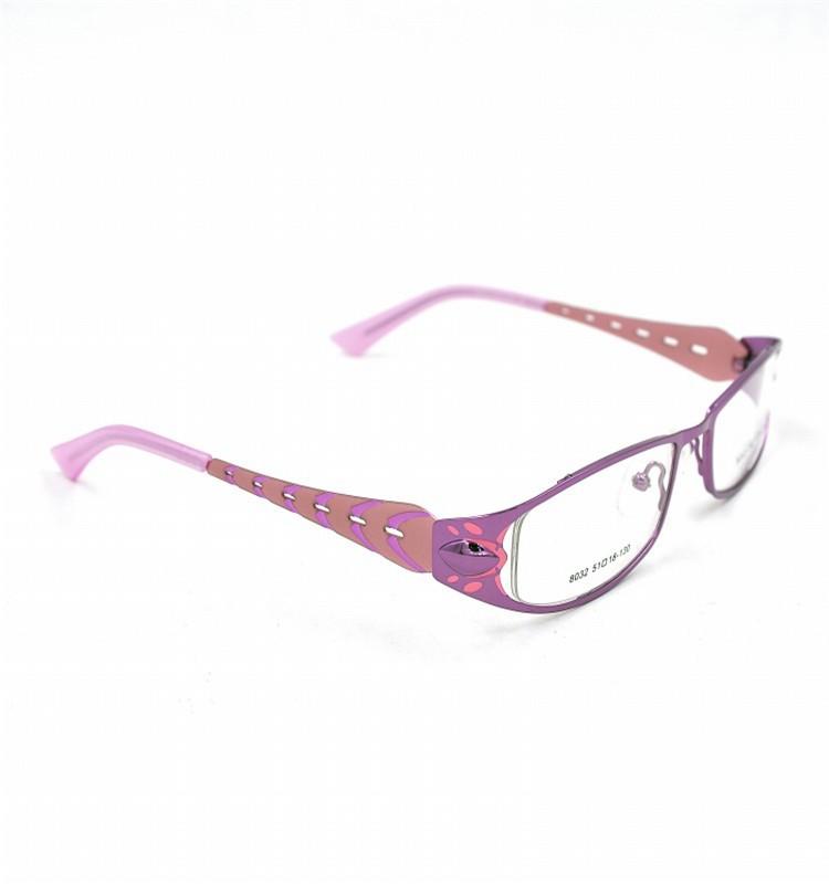 New Style Eyeglass Frame : Fashion Optical Glasses New Style Metal Eyeglass Frame ...