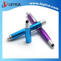 2015 Hot selling advertising pen, power bank pen, stylus pen LY-DY08
