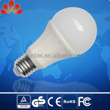 12W E27 Epistar chip, thermal conductive plastic with aluminium led light bulb