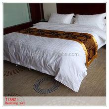 Wedding 3D Bedding Set Polyester Duvet Cover Cheap 5 Star Hotel Bed Linen Set