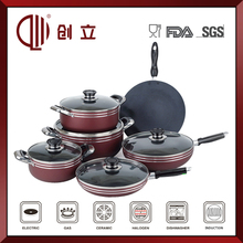 non-stick cookware set with Eco-Friendly Feature and FDA,LFGB,CE / EU,CIQ,SGS Certification