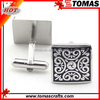 Wholesale charming stainless steel aigner cufflink