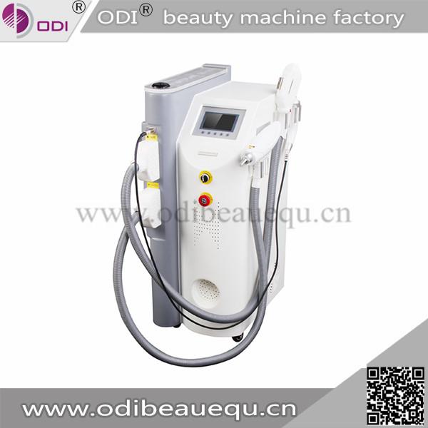 熱い販売の多機能elightレーザーipl、 rf美容デイスパ髪のための機器/レーザー/od-irl10しわの除去仕入れ・メーカー・工場