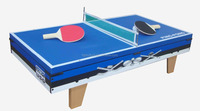 Portable and Top Game Table 3 in 1: POOL,HOCKEY,PINGPONG