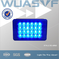 auto LED warning light with PC material