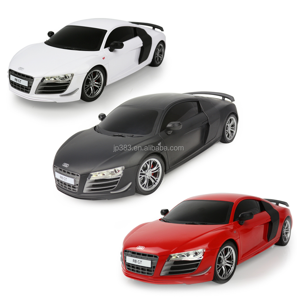 2014 nouveau produit 1 18 audi r8 t l commande voiture. Black Bedroom Furniture Sets. Home Design Ideas