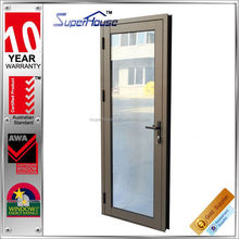 interior and exterior with AS2208 Double Glazing Glass Cheap price outward opening doors