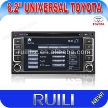 3D Menu 6.2'' wireless game function central Car DVD Player