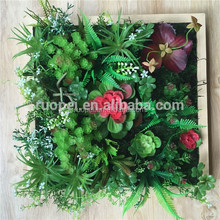 2015 Hot sale artificial plant wall/green wall for indoor landscape