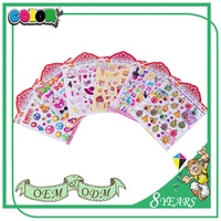 Hot Sell Product High Quality New Design Lovely Decorative Tattoo Sticker For Kids