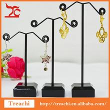 Exhibición de la joyería estante organizador exhibición del pendiente para la joyería del estante del