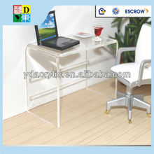 Acrylic computer table clear,furniture computer table,modern computer desk