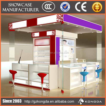 Hot sale electronic product display rack provide shop interior design