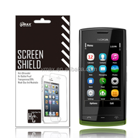 Mirror cell phone screen protectors for Nokia 500 fate oem/dom
