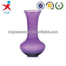 Purple Glass Vase
