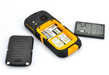 2.0 inch high quality rugged W28 chinese waterproof senior cell phone with sos buttton