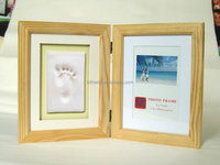picture Frame Baby handprints Clay and footprints photo frames Super light clay