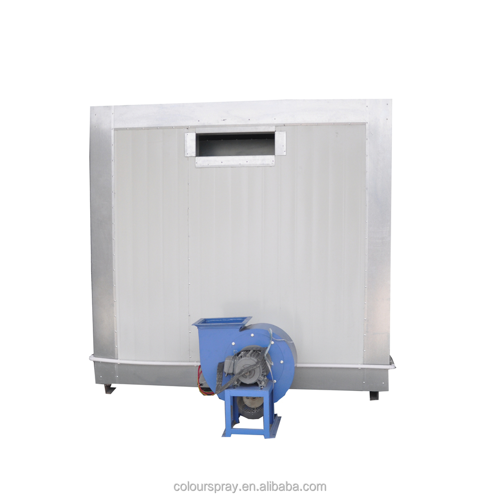 Powder coating curing oven heating burner room view for Paint curing oven
