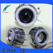 2015 B-deals supply new design logo product for hid projector lens with cotton angel eyes