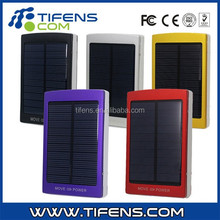 10000 mAh Solar Power bank Panel Power Bank Dual USB External Mobile Battery Charger for Smart Phone