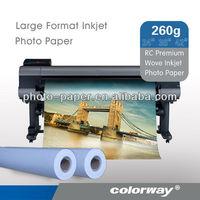 260G Premium Glossy Wove Photo Paper (RC base