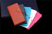 new arrival Premium super slim stand flip pu leather protector cover phone case for acer liquid e3 Low moq