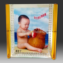 Crystal Photo Frame for wedding decoration