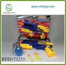 2015 Hot sell soft bullet gun toy with water bullet soft bullet gun