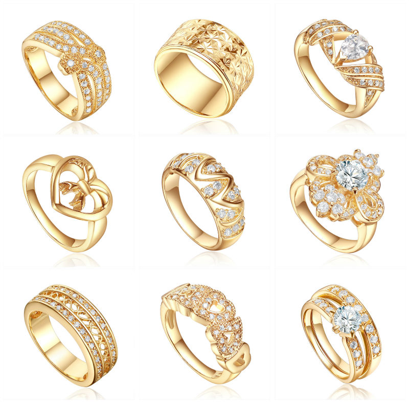 showroom sample wedding ring designs.