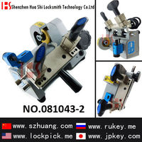 Locksmith tools Gladaid portable single head horizontal key cutting machine (AC220V) 081043-2