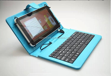 High quality crystal pattern waterproof pu tablet keyboard case for andriod tablet pc