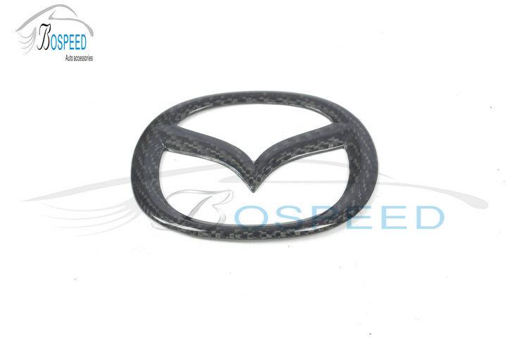 Carbon Fiber Symbols Badges Emblems For Mazda Car Logo Buy Carbon