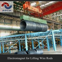 Wire Rods DC Lifting Electromagnet Series MW22