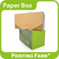 design personalizado arte de dobrar papel caixa de presente para o bolo