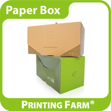 Custom Design Art Paper Folding Gift Box For Cake