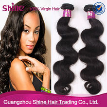Tangle free natural color 5a grade 100 chinese remy hair extension cheap
