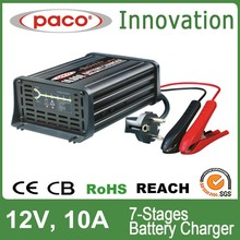12V/ 24V Portable Calcium/Gel/ AGM Battery Charger for Car