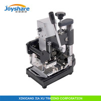 2015 manual hot foil stamping machine price for leather plastic sale