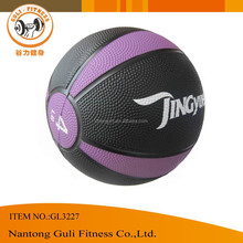 Crossfit Rubber Material Two Color Bouncing Medicine Weight Ball