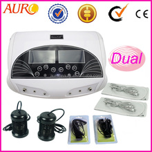 good effect dual working system detox foot ion spa machine with belt Au-05