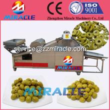 No broken olives ring slicer machine/olives cutting machine made in China