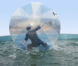 Big inflatable water ball game walking water ball for adults
