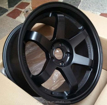 Japan racing wheels replica rims size 18*9 and 18*10 staggered set