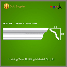 High quality modern ceiling design building materials gypsum cornice made in China