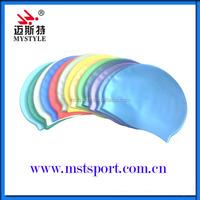 China waterproof national funny swimming cap