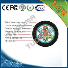 FTTX G652D single mode GYTY outdoor optical fiber cable