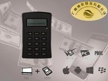 mobile phone smart card reader